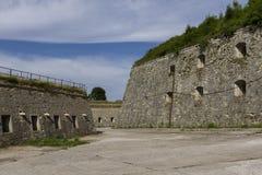 Fortaleza de Klodzko - um complexo original da fortificação no Polônia Imagem de Stock Royalty Free