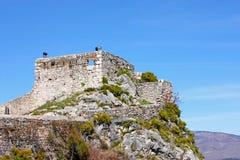 Fortaleza de Knin Foto de archivo libre de regalías
