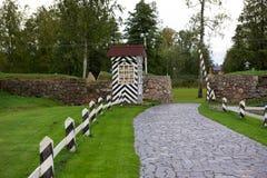Fortaleza de Korela (Kexholm) en Priozersk, Rusia Imagen de archivo libre de regalías