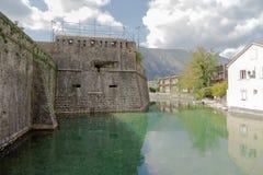 Fortaleza de Kotor Imagen de archivo