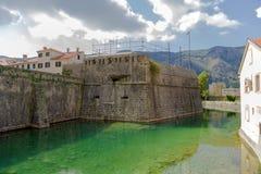 Fortaleza de Kotor Fotografía de archivo libre de regalías