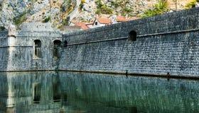 Fortaleza de Kotor Imagens de Stock Royalty Free