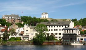 Fortaleza de Kristiansten Imágenes de archivo libres de regalías