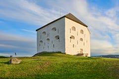 Fortaleza de Kristiansten, Strondheim, Noruega Foto de archivo