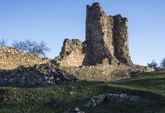 Fortaleza de Krusevac em serbia fotografia de stock royalty free