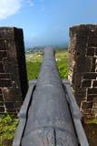 Fortaleza de la colina del azufre - santo San Cristobal Imagen de archivo libre de regalías