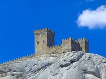 Fortaleza de la montaña Fotografía de archivo libre de regalías