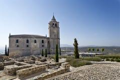 Fortaleza de La Mota Major Abbey Church Stock Image