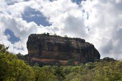 Fortaleza de la roca de Sigiriya Imagenes de archivo