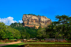 Fortaleza de la roca de Sigiriya Fotos de archivo libres de regalías