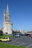 Fortaleza de La Rochelle, Francia foto de archivo