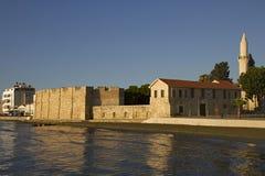 Fortaleza de Larnaca Imágenes de archivo libres de regalías