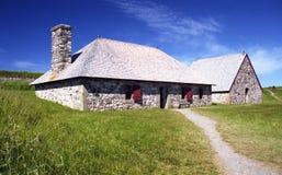 Fortaleza de Louisbourg Foto de Stock
