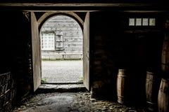 Fortaleza de Louisbourg que mira hacia fuera Imagen de archivo libre de regalías