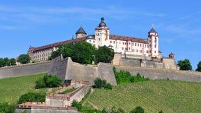 Fortaleza de Marienberg en Wurzburg Imagen de archivo