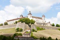 Fortaleza de Marienberg, Wurzburg Fotos de archivo