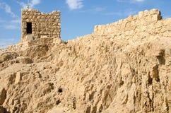 Fortaleza de Masada fotografia de stock