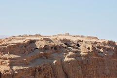 Fortaleza de Masada, Israel. imagens de stock