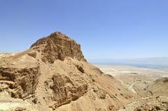 Fortaleza de Masada, Israel. fotografia de stock royalty free