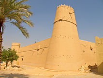 Fortaleza de Masmak del Al imagen de archivo