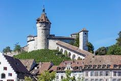 Fortaleza de Munot en Schaffhausen Fotos de archivo