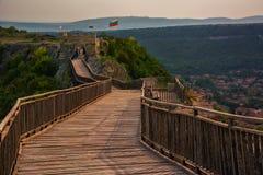 Fortaleza de Ovech, Provadia, Bulgária Imagens de Stock Royalty Free