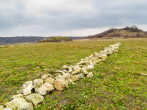 Fortaleza de Ovech, Provadia, Bulgária Fotos de Stock Royalty Free