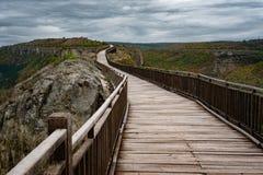 Fortaleza de Ovech, Provadia, Bulgaria Fotos de archivo