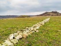 Fortaleza de Ovech, Provadia, Bulgaria Fotos de archivo libres de regalías
