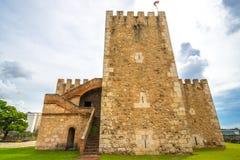 Fortaleza de Ozama en Santo Domingo, República Dominicana imágenes de archivo libres de regalías