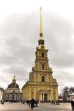 A fortaleza de Peter e de Paul, St Peterburg, Rússia Imagem de Stock
