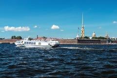 Fortaleza de Peter e de Paul, St Petersburg Imagens de Stock