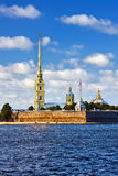 A fortaleza de Peter e de Paul, St Petersburg Fotos de Stock Royalty Free