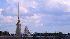 Fortaleza de Peter e de Paul em St Petersburg Foto de Stock