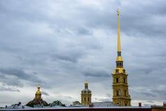 Fortaleza de Peter-Pavel's Imagens de Stock