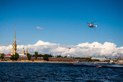 Fortaleza de Peter-Pavel's Fotografía de archivo libre de regalías