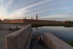 Fortaleza de Peter y de Paul Fotografía de archivo libre de regalías