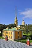 Fortaleza de Peter y de Paul en St Petersburg Foto de archivo