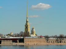 Fortaleza de Peter y de Paul, St Petersburg Foto de archivo libre de regalías