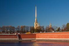 Fortaleza de Peter y de Paul, St Petersburg Fotografía de archivo