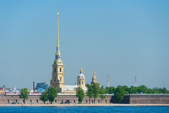 Fortaleza de Peter y de Paul, St Petersburg Imágenes de archivo libres de regalías