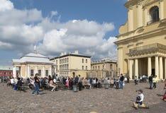Fortaleza de Peter y de Paul St Petersburg Rusia Imagen de archivo libre de regalías