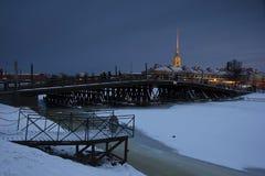 Fortaleza de Peter y de Paul, St Petersburg, Rusia Imagen de archivo libre de regalías