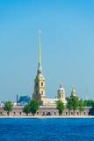 Fortaleza de Peter y de Paul, St Petersburg, Rusia Foto de archivo libre de regalías