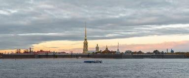 Fortaleza de Peter y de Paul, St Petersburg Imagen de archivo libre de regalías