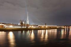 Fortaleza de Peter y de Paul, St Petersburg Fotos de archivo libres de regalías