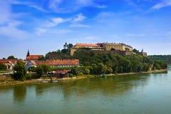 Fortaleza de Petrovaradin en Novi Sad - Serbia Fotos de archivo libres de regalías
