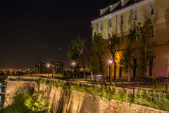 Fortaleza de Petrovaradin - Novi Sad/Sérvia Imagens de Stock Royalty Free