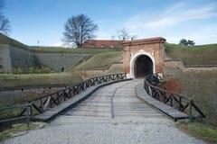 Fortaleza de Petrovaradin, Novi Sad, Serbia Imagenes de archivo