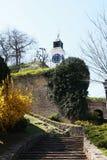 Fortaleza de Petrovaradin, Novi Sad, Serbia, lugar del festival de la salida Imagenes de archivo